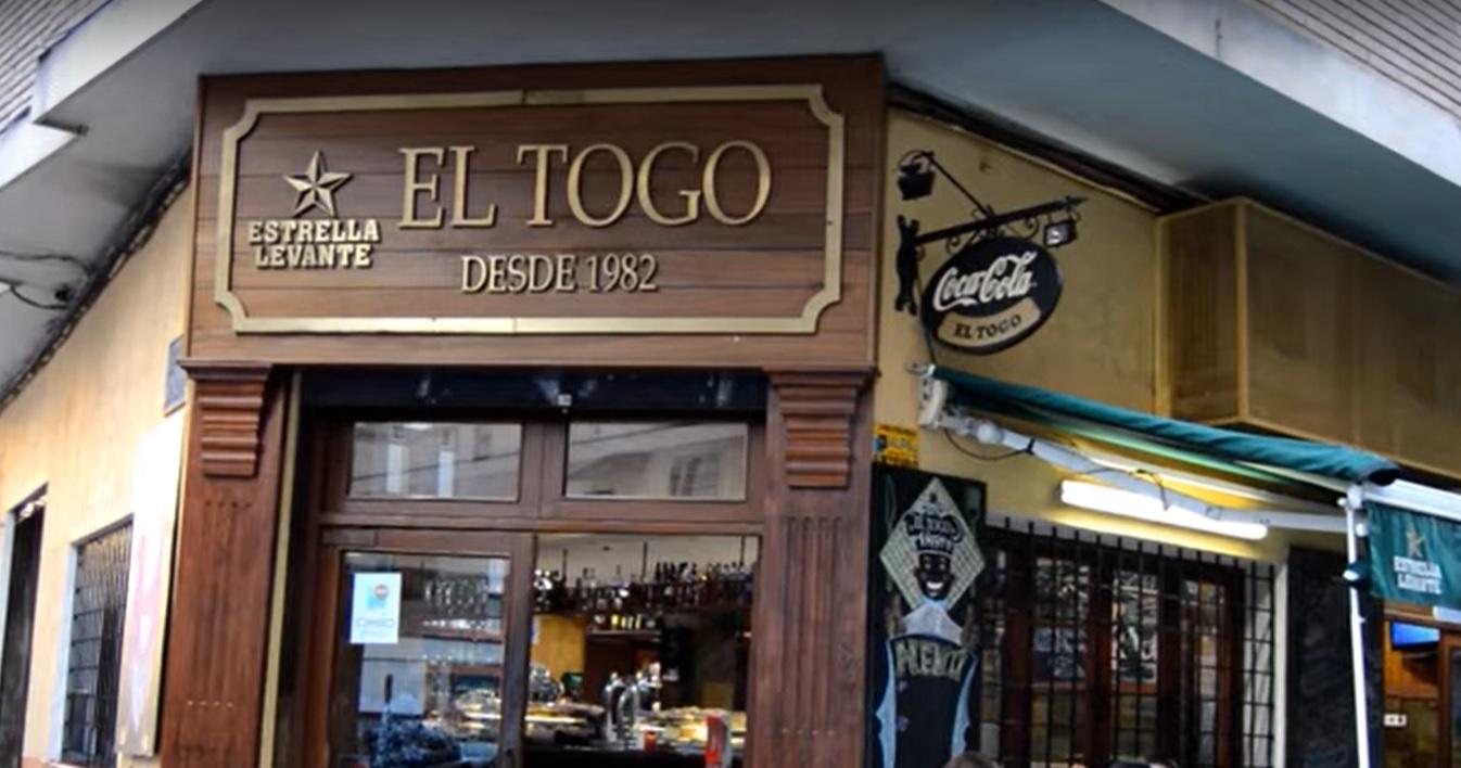 el togo - 25 bares emblemáticos de la ciudad de Murcia
