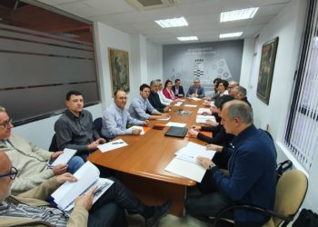 Reunión del comité municipal de Molina para el seguimiento del coronavirus.